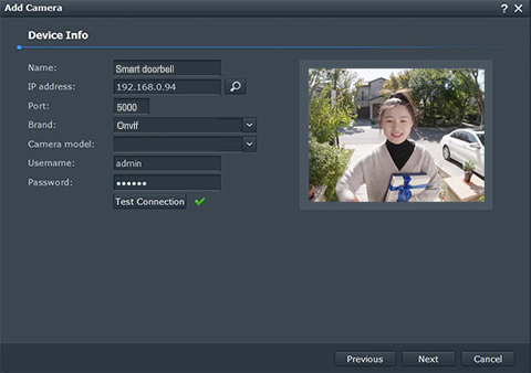 Synology Surveillance Station Can T Add Camera