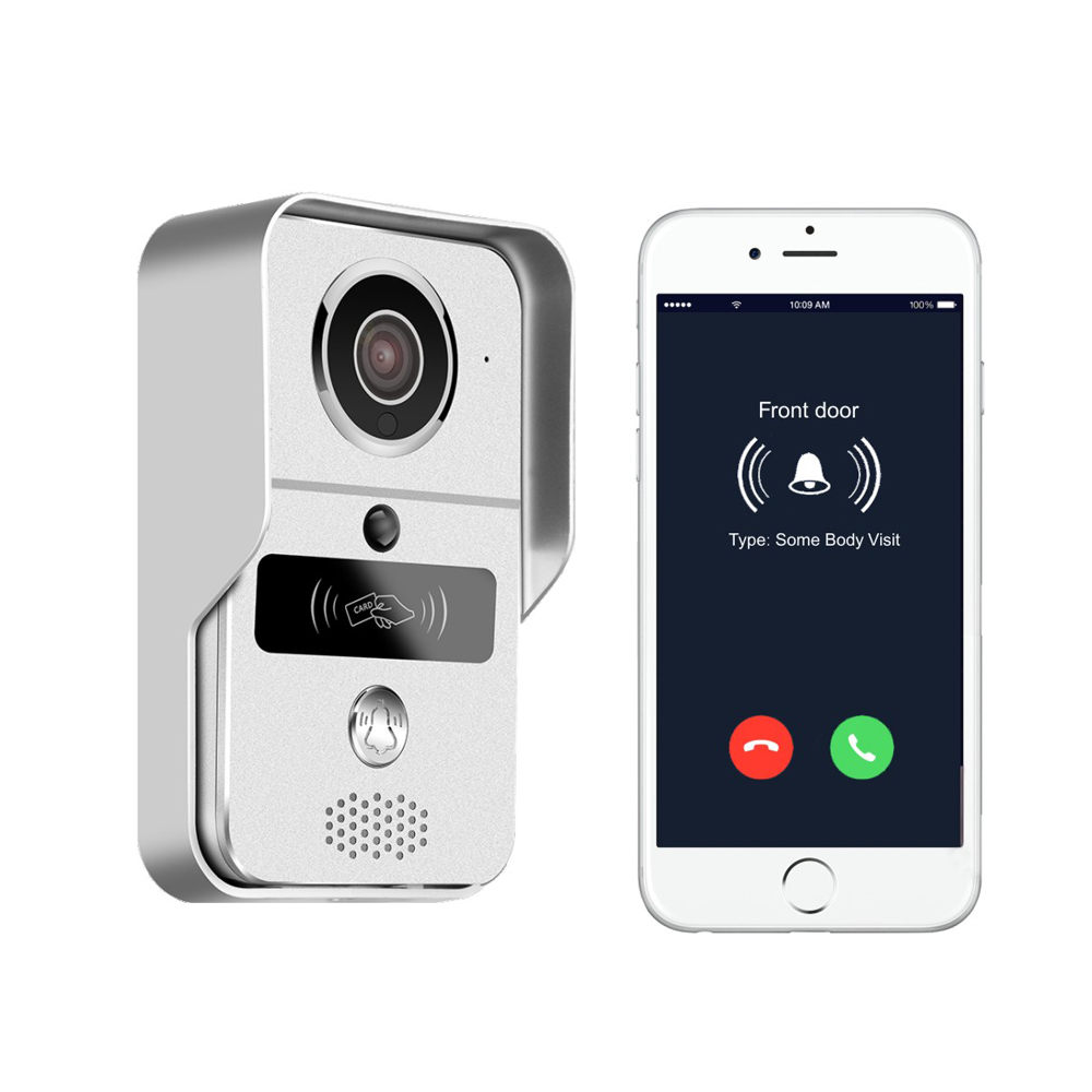 smart doorbell works with electronic lock