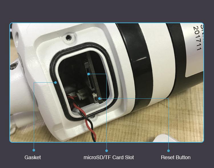 Yoosee outdoor 360° panoramic/VR camera 1 3MP/960p two-way audio